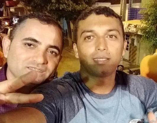 Valmir Pereira e Romério Braz