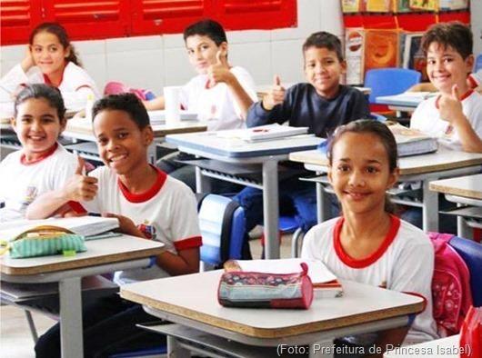 alunos_Rede Municipal de Ensino de Princesa Isabel