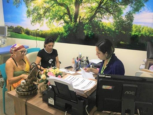 oncologista do Hospital do Bem, de Patos, Nayarah Castro