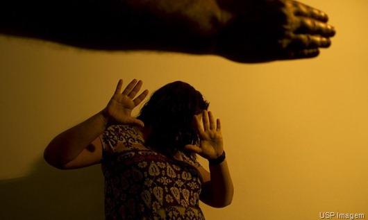 violência doméstica- USP Imagem