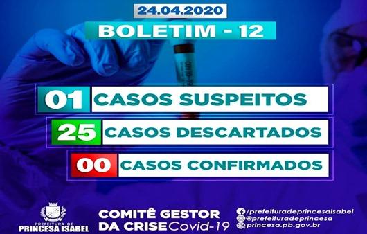 Boletim do Comitê Gestor de Crise Covid-19_Prefeitura de Princesa Isabel
