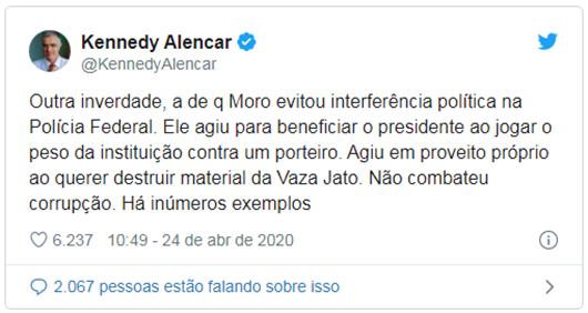 Kennedy Alencar_Twitter