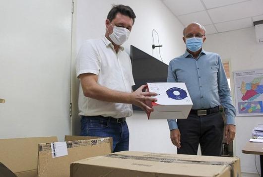 Saúde recebe doações de equipamentos, insumos e serviços para ajudar no combate ao coronavírus