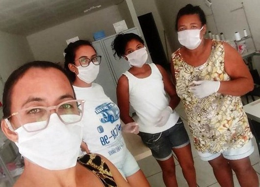 artesãs paraibanas_produção_máscaras de proteção