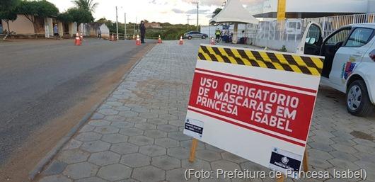Barreira Sanitária 3-Prefeitura de Princesa Isabel