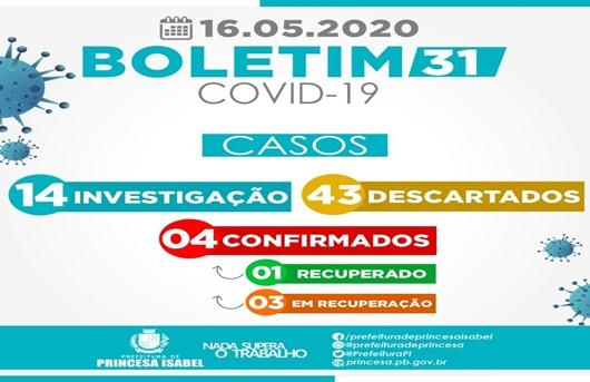Boleim Covid-19-Prefeitura de Princesa Isabel