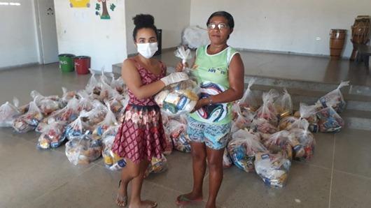 Governo da Paraíba-distribuição de cestas básicas