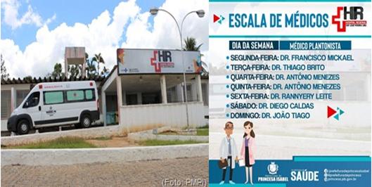 HRPI_Escala de Médicos-Prefeitura de Princesa Isabel