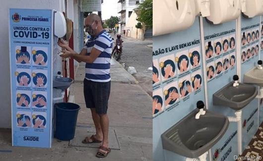 Lavatórios-Prefeitura de Princesa Isabel