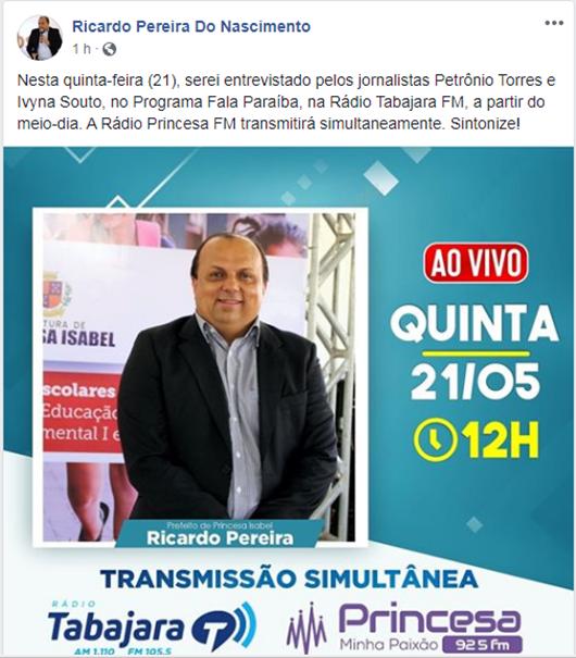 Ricardo Pereira-Facebook