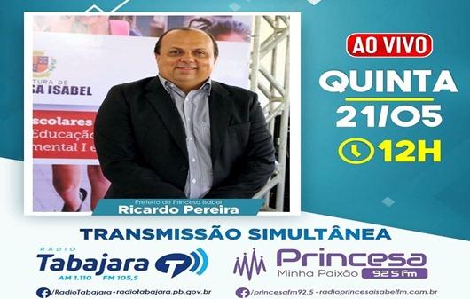 Ricardo Pereira_entrevista_Tabajara-Princesa FM