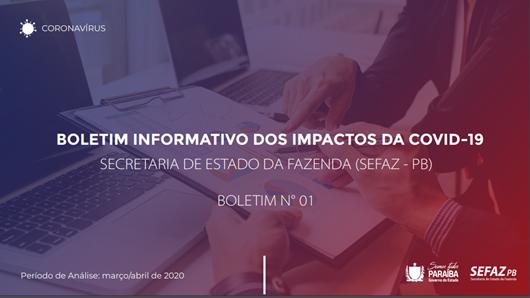 Sefaz-PB_Boletim Informativo dos Impactos da Covid-19