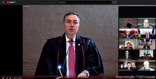 Solenidade de posse da presidência do Tribunal Superior Eleitoral 2020/2022