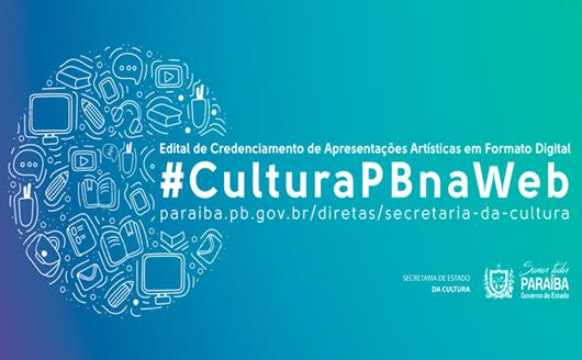 Edital #CulturaPBnaWeb