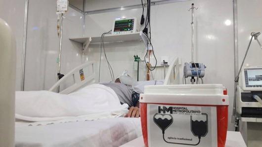 Hospital Metropolitano_transfusão de plasma convalescente