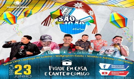 Live São João 2020-Prefeitura de Princesa Isabel