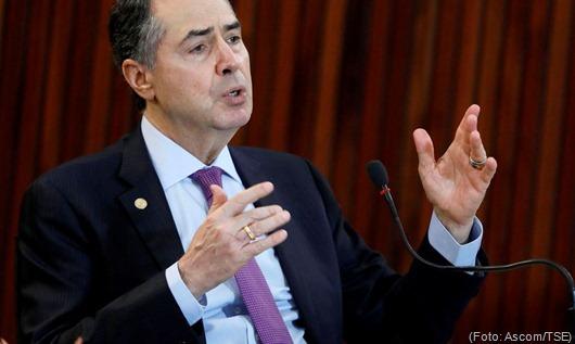 Entrevista coletiva do ministro Roberto Barroso por videoconferência. Brasília-DF, 26/05/2020 Foto: Roberto Jayme/ASCOM/TSE