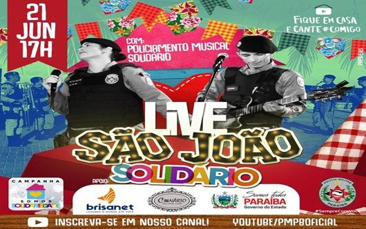 live musical_Policia Militar da Paraíba