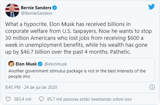 Bernie Sanders_Twitter