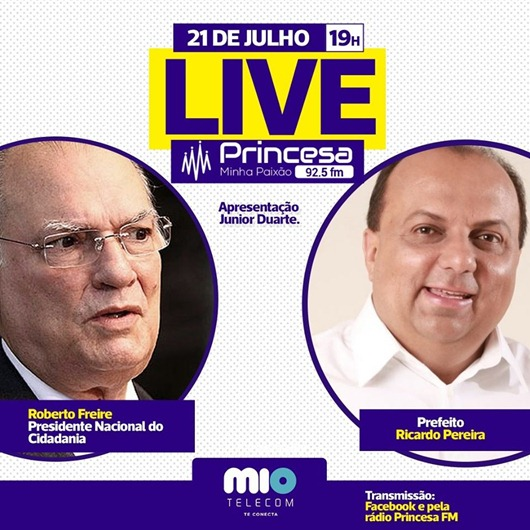 Live_Roberto Freire-Ricardo Pereira
