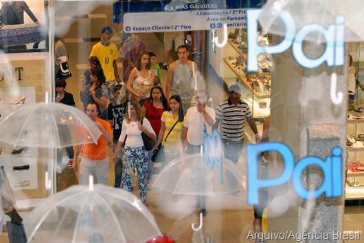Arquivo_Agência Brasil_shopping-Dia dos Pais
