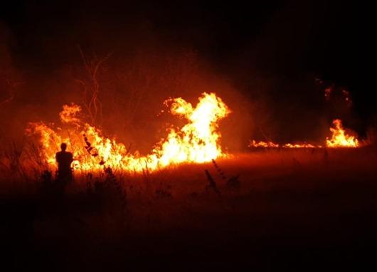 incêndio_área rural de Santa Luzia-PB