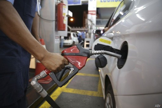 posto de combustíveis-Agência Brasil