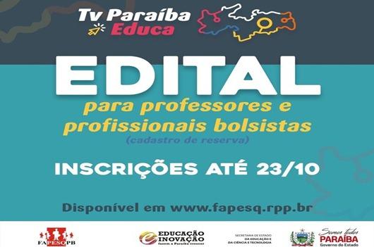 Projeto TV Paraíba Educa