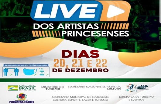 live_artistas de Princesa Isabel