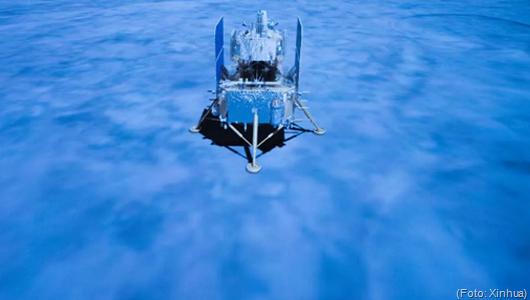 sonda espacial chinesa Chang'e 5