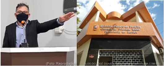 Irismar Mangueira_denúncia contra a Tim no MP