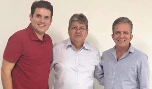Nabor_João Azevêdo e Hugo Motta