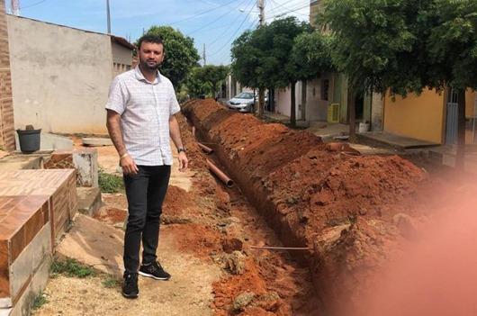 Secretário Fábio Braz_esgotamento sanitário de Prinesa Isabel