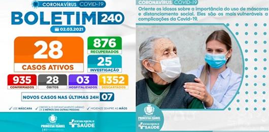 BOLETIM COVID-129_CAMPANHA PREVENTIVA_PREFEITURA DE PRINCESA ISABEL