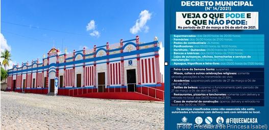 Prefeitura de Princesa Isabel_Decreto