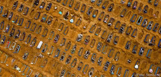 cemitério de Manaus_mortes por Covid-19
