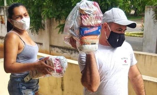 entrega de cestas básicas_Catolé do Rocha_rede estadual de ensino