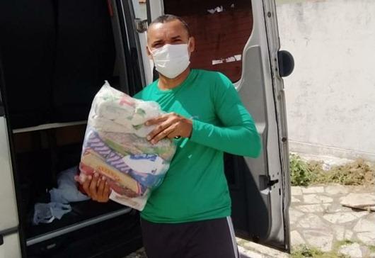 Governo da Paraíba_entrega_cestas básicas para trabalhadores de atividades turísticas