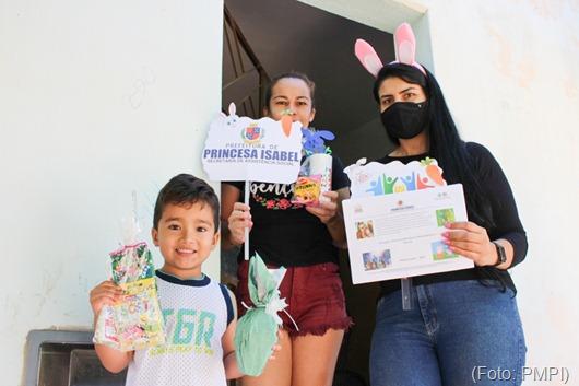Programa Criança Feliz_Páscoa_Princesa Isabel