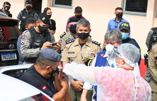 azevêdo_vacinação_forças de Segurança Pública