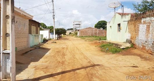 calçamento_Distritio de Lagoa da Cruz_Prefeitura de Princesa Isabel