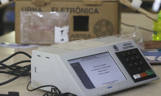 urna eletrônica-Agência Brasil