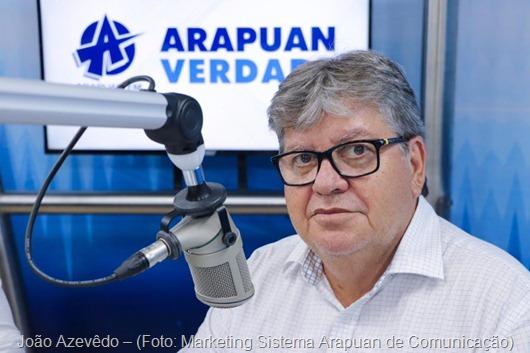 João Azevêdo_Arapuan