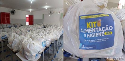 Kits de alimentação e higiene_Prefeitura de Princesa Isabel