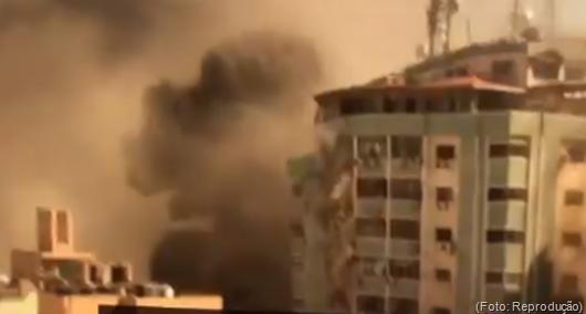bombardeio de Israel contra Faixa de Gaza