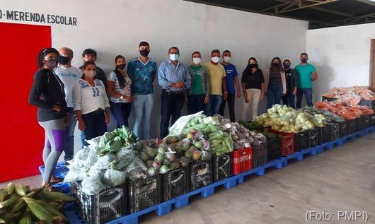 distribuição de alimentos da agricultura familiar_Princesa Isabel