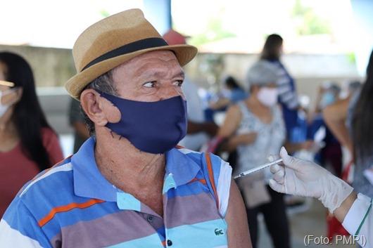vacina contra a Covid-19_Secretaria de Saúde de Princesa Isabel