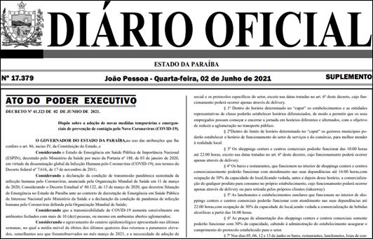 Diário Oficial do Estado_2-6-2021