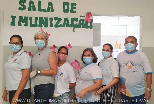Equipe de Imunização_UBS Centro-Princesa Isabel