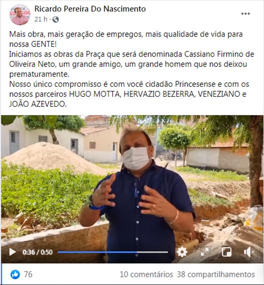 Ricardo Pereira_rede social